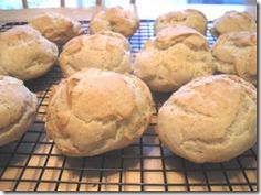 Gluten free French Bread Rolls... could there be anything better from the oven?