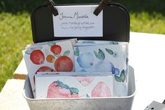 Martje: Handpainted cards for sale!