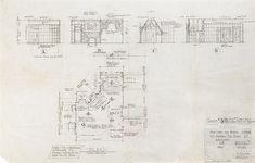 Wonderful 24 x 36 blueprint of the beverly hillbillies house made mansion elevation for the munsters and floor plan malvernweather Gallery