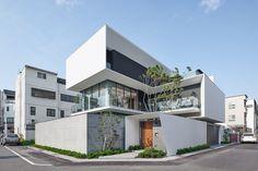 Minimal Architecture, Facade Architecture, Residential Architecture, Contemporary Architecture, Villa Design, Facade Design, Modern House Design, Exterior Design, Contemporary Building