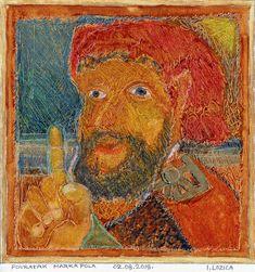 Original Portrait Painting by Ivan Lozica Comparative Literature, Original Art, Original Paintings, Marco Polo, Hangzhou, Impressionism Art, Watercolour Painting, Art Oil, Buy Art