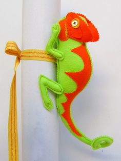 Chameleon  curtain tiebacks huggers back to school decor nursery curtain belts on Etsy, $41.23 AUD