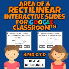 Interactive Google Slides math game covering finding area of a rectilinearCCSS 3.MD.C.7d Distance learning2 challenges, 10 multiple choice self-checking problems eachDigital product - no prep!This is a digital product for Google Classroom use.Please purchase this product only if you know how to use ... Finding Area, Multiple Choice, Google Classroom, Fractions, Math Games, Elementary Schools, Distance, Challenges, Student