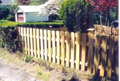 Chamfered Semi-Privacy Shadowboard Fence