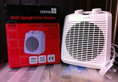 Adjustable Thermostat 🔥 Auto Cut out. Desk Fan, Electric Fan, Fans, Cool Stuff, Ebay, Electric Cooling Fan, Followers, Fan
