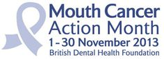 The British Dental Health Foundation is one of the leading campaigners to help raise awareness of the risks and symptoms of mouth cancer in the world.  In the UK, we organise our annual Mouth Cancer Action Month campaign each November to encourage everyone to find out more about a disease which has increased by approaching 50 per cent in the last decade.  #MCAM