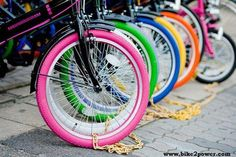 The best colors of life just came on a bike