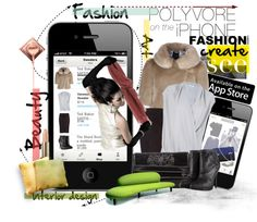 """""""Polyvore On The IPhone"""" by keti-lady on Polyvore"""
