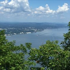Beautiful view of Hudson from Storm King Mt. -Aug.20,1016