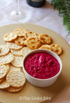 With only 3 ingredients, which include roasted beetroot and garlic, this tasty beetroot dip is the perfect appetizer for a party or summer BBQ!