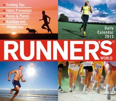 Buy Runners World 2013 Boxed Calendar online at Megacalendars Daily calendar offers tips on training nutrition and more