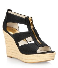 Micheal Kors - Damita Wedge. I just bought these. Now I need some cute clothes to flying with them.
