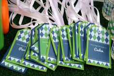 Golf Birthday Party Ideas | Photo 17 of 48 | Catch My Party