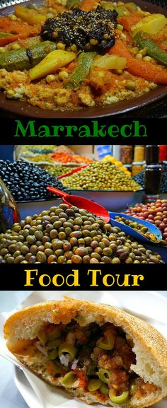 Marrakech Food Tour - It will take you into the center of the old walled city and give you a taste of the real Marrakech. This is an experience that will show you have to eat authentic Moroccan food with locals. Be a traveler, not a tourist! Click to read the full story. @venturists