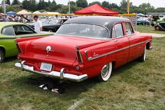 I actually have this car a 1956 plymouth savoy mine for 1956 plymouth belvedere 4 door