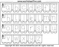 small letter tracing worksheet lowercase