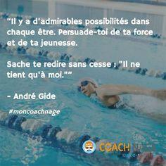 André Gide© Coach Nage - Guide-Piscine.fr