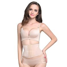 Lover-Beauty Tummy Slimmer Waist Cincher Body Shapewear for Under Shirt Beige L ** Want additional info? Click on the image.