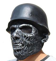 New Halloween Helmet Skull Latex Maske