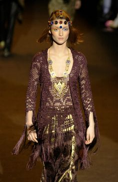 A is for Anna Sui.  New York Fashion Week Fall 2002.