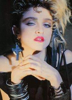 Vintage fashion ethical fashion: Madonna in the 80's