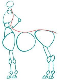 not only lazy, but smart too!, Super quick centaur/horse body tutorial!