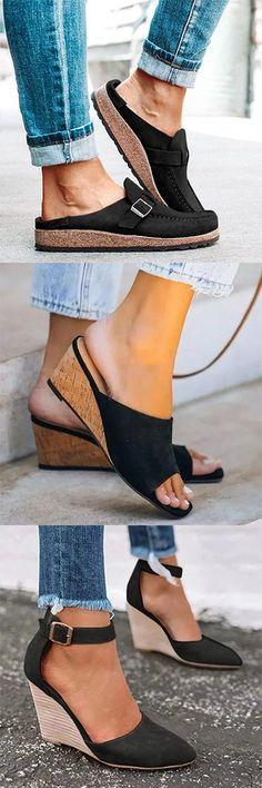 2020 Hot Selling Sandals. Free=shipping Over $79. Shop Now! #platformpumpsbeige #platformpumpsclassy #platformpumpsoutfit #chunkyplatformpumps #platformpumpsanklestraps #platformpumpspeeptoe High Fashion, Fashion Shoes, Fashion Outfits, Womens Fashion, Shoe Boots, Shoes Sandals, Shops, Shoe Closet, Platform Pumps