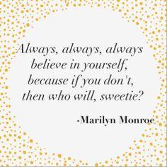 #MondayMotivation #QuoteOfTheDay #RichBitch #Marilyn