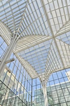 Charles M. Harper Center, Booth Winter Garden, University of Chicago, 2004  Rafael Vinoly Architects
