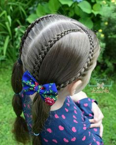 Save by Hermie Childrens Hairstyles, Lil Girl Hairstyles, Work Hairstyles, Princess Hairstyles, Pretty Hairstyles, Braided Hairstyles, Toddler Hair, Hair Dos, Hair Designs