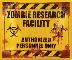 HALLOWEEN ZOMBIE RESEARCH FACILITY, CLIP ART