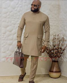 Latest African Wear For Men, African Shirts For Men, African Dresses Men, African Attire For Men, African Clothing For Men, Nigerian Men Fashion, African Men Fashion, Mens Fashion Suits, Mens Suits
