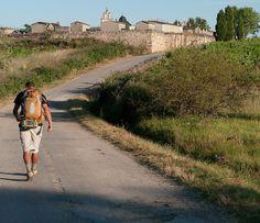 "hiking ""el Camino de Santiago"" ...ancient pilgrimage trail across northern Spain"