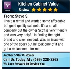 I have a rental and wanted some affordable but good quality cabinets. It's a small...