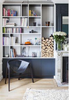 C'est l'agence d'architecture intérieure Desjeux Delaye, qui a réalisé dans un quartier chic et verdoyant de Paris, cet appartement où un bleu trendy a pris place pour changer du …