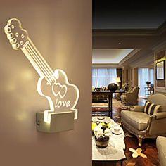 Candelabro de pared LED / Bombilla Incluida Moderno/ Contemporáneo Metal