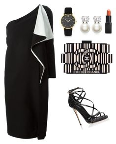 """My First Polyvore Outfit"" by gabrijelaglavas101 ❤ liked on Polyvore featuring Chloé, Chanel, Judith Jack, Larsson & Jennings, Barry M and Dolce&Gabbana"