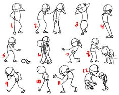 Janel Drewis Animation: poses