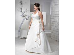 escotes novias / Vestido de novia talla grande / boda