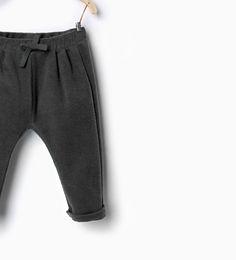Bukser med tekstur-Bukser-Baby pige (3 mdr. - 3 år)-BØRN | ZARA Danmark