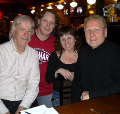 Music... Jim McCarty (Yardbirds founder), Terry Moshenberg (League Of Rock founder), Lisa (Music Head), Terry Brown (Famed Producer of all recordings RUSH and more)