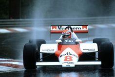 Niki Lauda | McLaren MP4/1C | Belgian Grand Prix, 1983.
