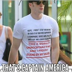 That's Photoshop. You can tell because the words don't bend with the folds. Totally believe Chris Evans and Steve Rogers would both uphold that, but still Photoshop. Dane Dehaan, Xavier Dolan, Steve Rogers, Chris Evans, Leonardo Dicaprio, Cillian Murphy, Faith In Humanity Restored, Equal Rights, Thats The Way