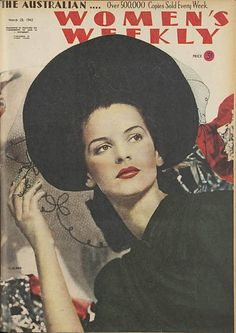 THE AUSTRALIAN WOMEN'S WEEKLY, Cover March 28, 1942