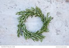 Make a rosemary wreath to hang on the front door. Not only smells wonderfully welcoming, but helps magically protect the home too. Complete DIY instructions