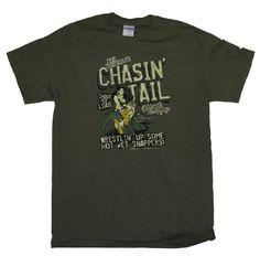 Big Johnson T-shirt Chasin Tail Gator Swamp-small