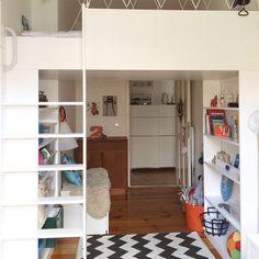 Hochbett by HaijtemaLajic. Kidsroom. living solution.