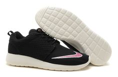 2014 Goedkope On Sales Nederland Roshe Run FB Yeezy Nike Damesschoenen Zwart/Wit