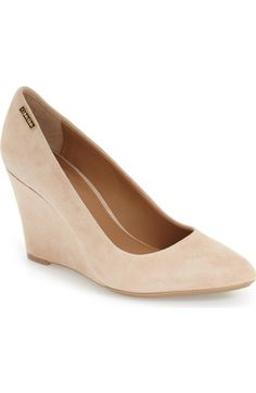 Calvin Klein 'Celesse'Wedge Pump (Women) available at #Nordstrom