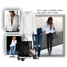 """""""My Favorite White Shirt"""" by bella46 on Polyvore"""